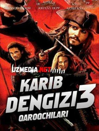 KARIB DENGIZI QAROQCHILARI 3   Uzbek tilida O'zbekcha tarjima kino 2018 HD tas-ix skachat
