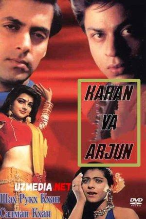 Karan va Arjun / Ardjun Hind kino Uzbek tilida O'zbekcha tarjima kino 1995 HD tas-ix skachat