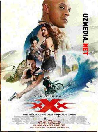 UCH IKS XXX Uzbek tilida O'zbekcha tarjima kino 2019 HD tas-ix skachat