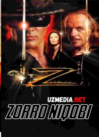 Zorro niqobi / Niqobdagi zorro Uzbek tilida O'zbekcha tarjima kino 1998 HD tas-ix skachat